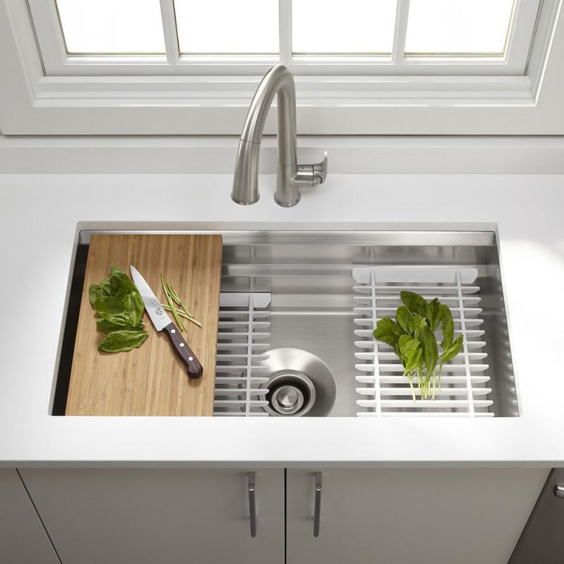 Rivelsa lavaderos de cocina acero inoxidable for Lavaderos de cocina